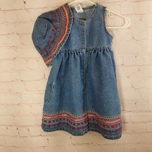 Old Navy  Dress with hat 4T